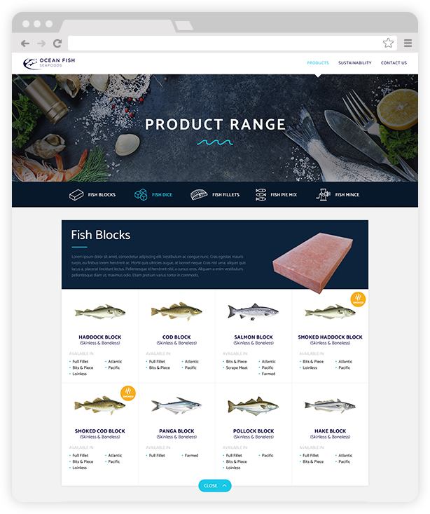 Ocean Fish Seafoods Ltd